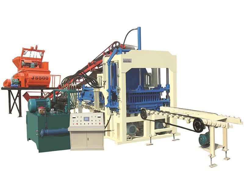QT4-15C automatic brick making machine