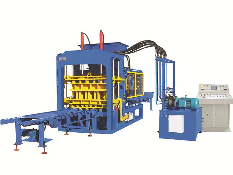 QT6-15B automatic block making machine