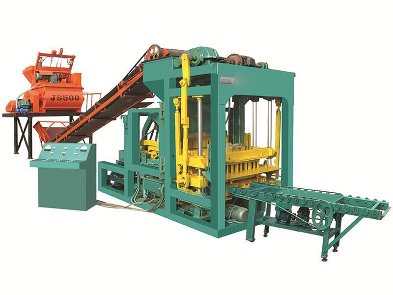 QTJ4-25 cement block making machine