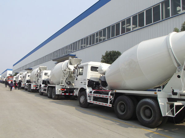 concrete mixer truck suppliers