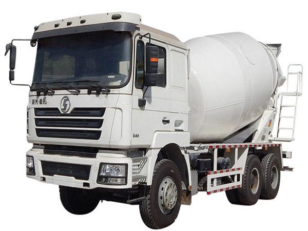 concrete transit mixer truck