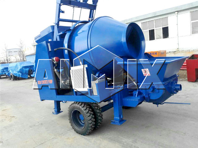 Concrete Mixer Pumps