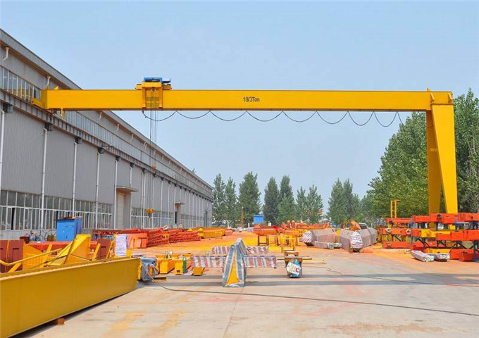 Quality half gantry crane single-girder