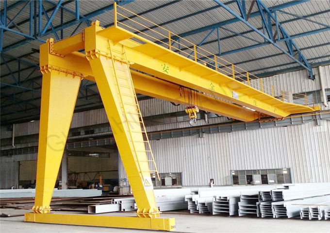 Purchase of double-girder half gantry crane